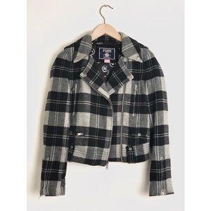 Vicoria's Secret PINK Plaid Jacket size XS
